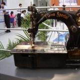 双针链式缝纫机